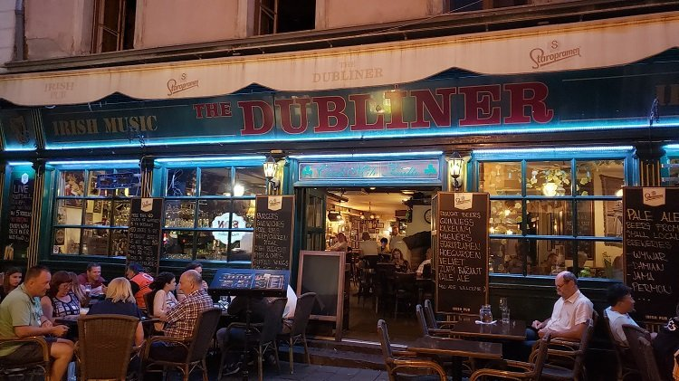 Irish Pub in Bratislava