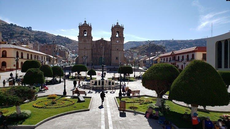 Plaza Mayor de Puno