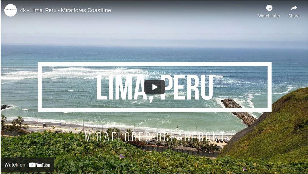 Miraflores Lima Coastline